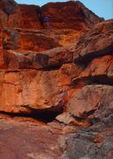 Rock Climbing Photo: Steeper than it looks.