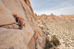 Rock Climbing Photo: A scenic view from Western Saga, Joshua Tree.