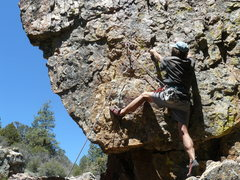 Rock Climbing Photo: Jacoby Canyon climbing