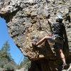 Jacoby Canyon climbing