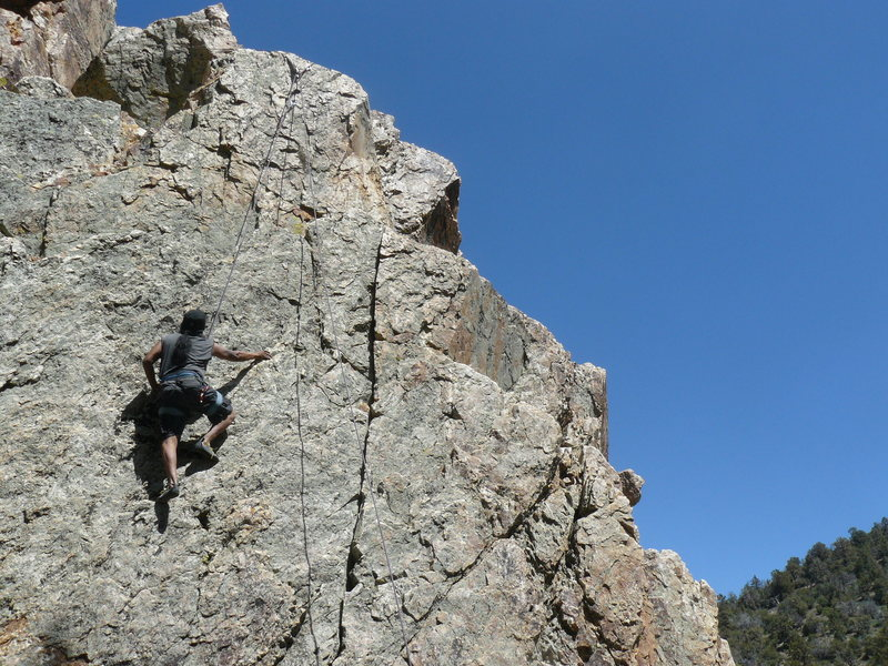 Rock Climbing Photo: Gunslinger Rock area.