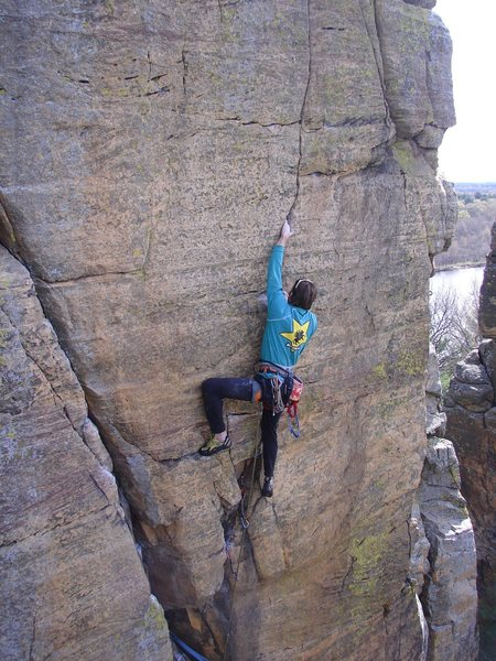Rock Climbing Photo: Rhoads.