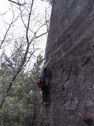 Rock Climbing Photo: Rhoads clipping.