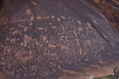 Rock Climbing Photo: Newspaper Rock
