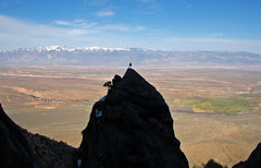 Rock Climbing Photo: Looking east from an unnamed pinnacle high on the ...