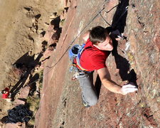 Rock Climbing Photo: Scott Bennett.
