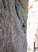 Rock Climbing Photo: Pitch 7/8 woman of mountain dreams