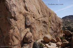 Rock Climbing Photo: Jam or Slam wall detail, with Free Bubba John high...