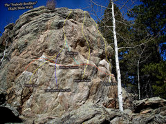 "Rock Climbing Photo: Photo beta for ""The Shorter They Fall."""
