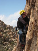 Rock Climbing Photo: I certainly didn't think the entry to this climb w...