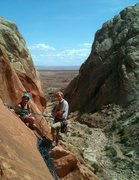 Rock Climbing Photo: John and that gurl with the ass thing over on P1 o...