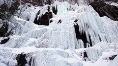 Rock Climbing Photo: Dracula in North Conway, NH