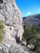 Rock Climbing Photo: Slippin' Sloan at the Surgery Buttress, Glenwood C...