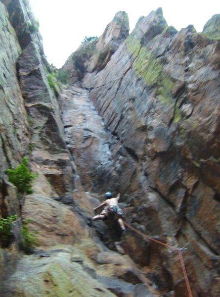 Rock Climbing Photo: what route? sorry for the poor picture quality
