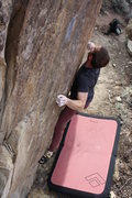 Rock Climbing Photo: White Wash Start