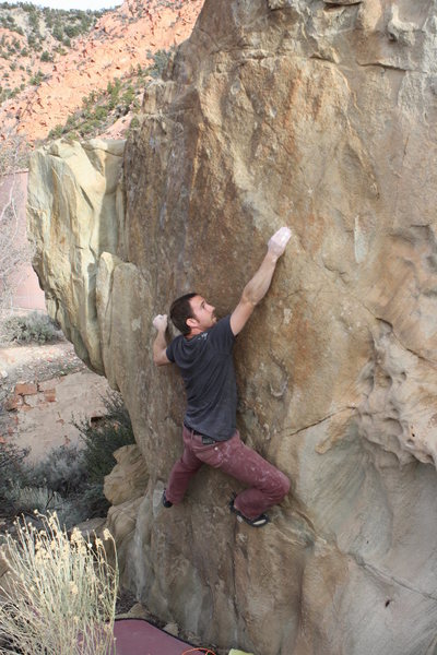 Rock Climbing Photo: White Wash
