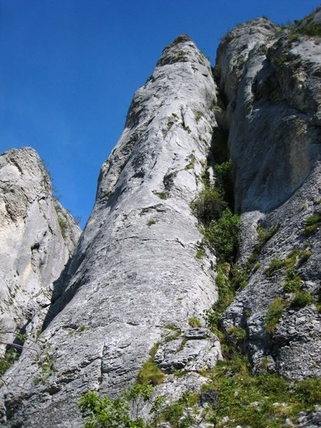Pilier Gris, the gray pillar, at Lans-en-Vercors