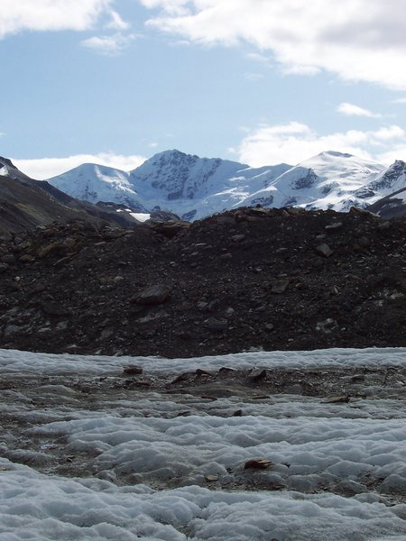 M'Ladies Peak, Castner Glacier Aug 2009