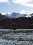 Rock Climbing Photo: M'Ladies Peak, Castner Glacier Aug 2009
