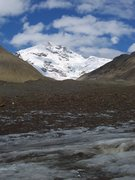 Rock Climbing Photo: Mt. Silvertip, Castner Glacier Aug 2009