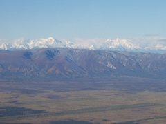 Rock Climbing Photo: The Delta Range from the east, showing Mt. Moffit ...