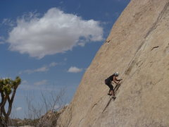 Rock Climbing Photo: Charlie Hoffman on the lower section. This was a g...