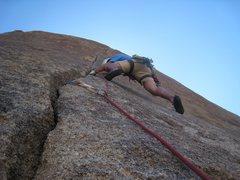 Rock Climbing Photo: Matt On Rubicon, amazing fingers