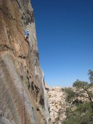 Rock Climbing Photo: matt on figures, its a little ways to the first bo...
