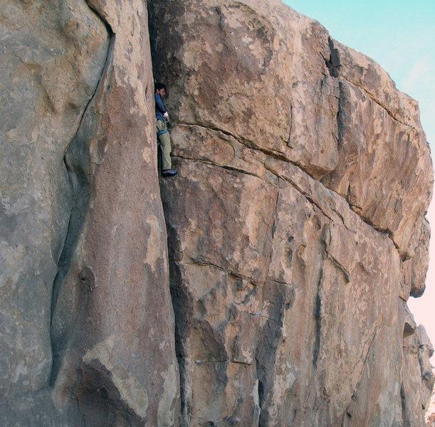 Rock Climbing Photo: you get a #6 in here and that's about it until you...