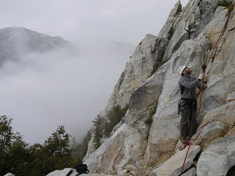 best days in IDY are when its cloudy and everyone is at JT, joe belaying below dave's deviation