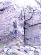 Rock Climbing Photo: Right Crack.