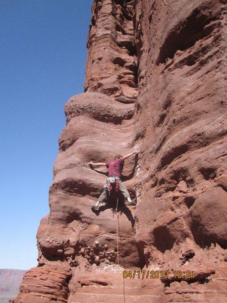 Rock Climbing Photo: Spread um'!