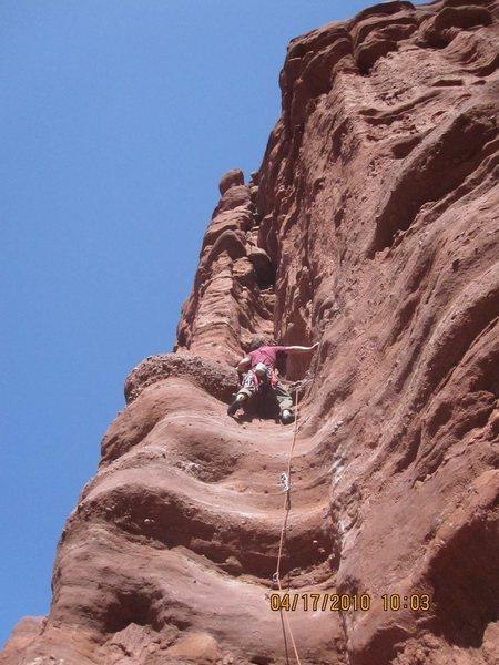 Rock Climbing Photo: Piece of cake!