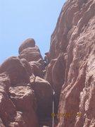 Rock Climbing Photo: A little higher.