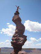 Rock Climbing Photo: Nice Mark!
