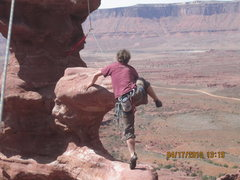 Rock Climbing Photo: Giddy up cowboy!