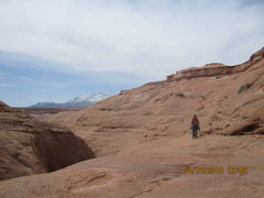 Rock Climbing Photo: Keep on trucking.