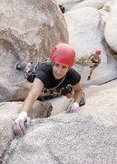 Rock Climbing Photo: Lisa Pritchet on Nurn's Romp 5.8