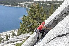Rock Climbing Photo: Lisa Pritchett leading West Country 5.7