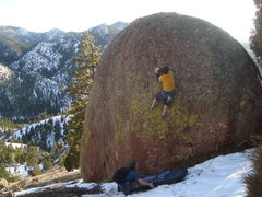Rock Climbing Photo: Great line.