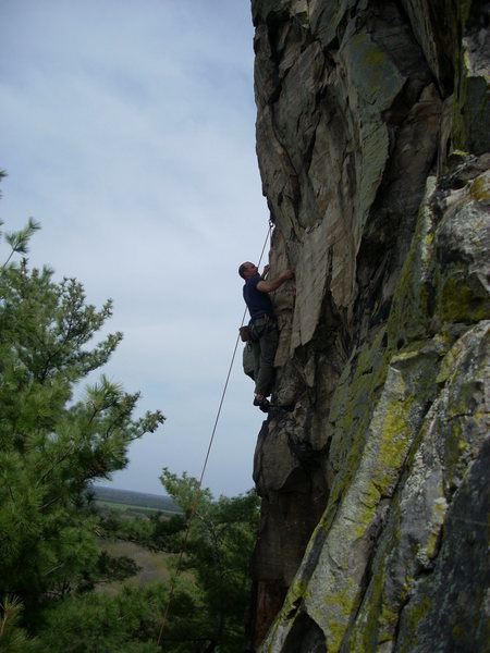 Rock Climbing Photo: Mike Lohre.