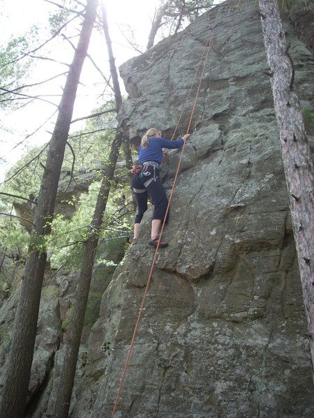 Rock Climbing Photo: Honey Bear on TR.