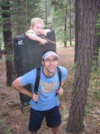 Me and my son, Kellen.