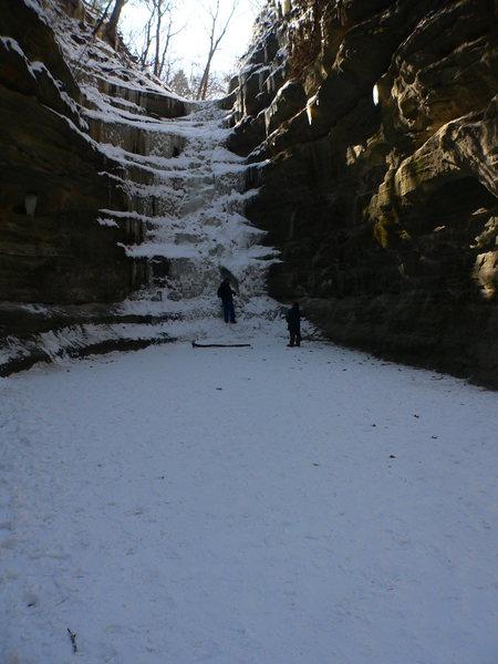 Rock Climbing Photo: French Canyon