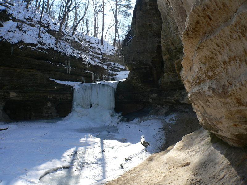 Rock Climbing Photo: LaSalle Canyon