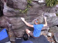 Rock Climbing Photo: Melin.