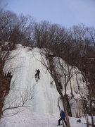 Rock Climbing Photo: main route