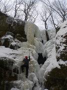 Rock Climbing Photo: left side cox hollow