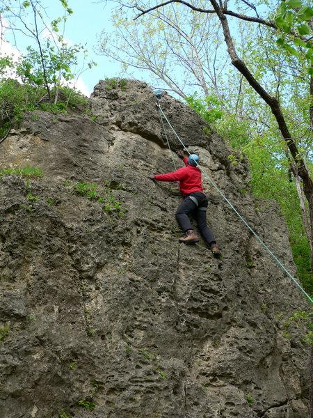 Rock Climbing Photo: java