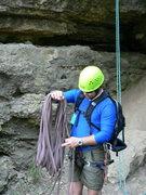 Rock Climbing Photo: bottom of Third Crack